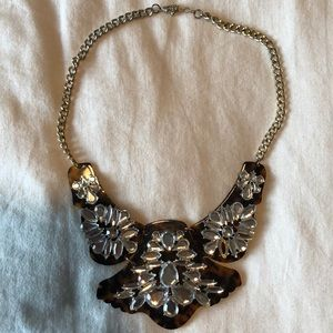 Jewelry - Brown Marbled Necklace